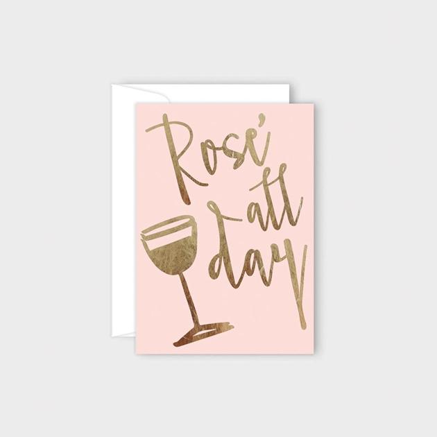 Poppy Card - Rose All Day -
