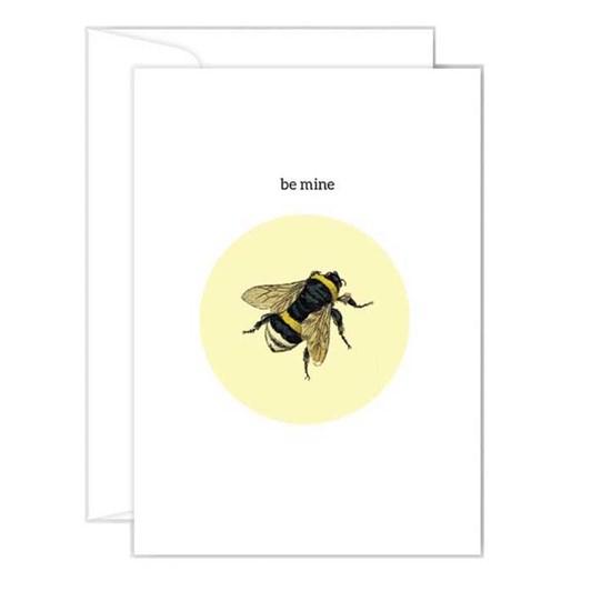 Poppy Card - Bee Mine