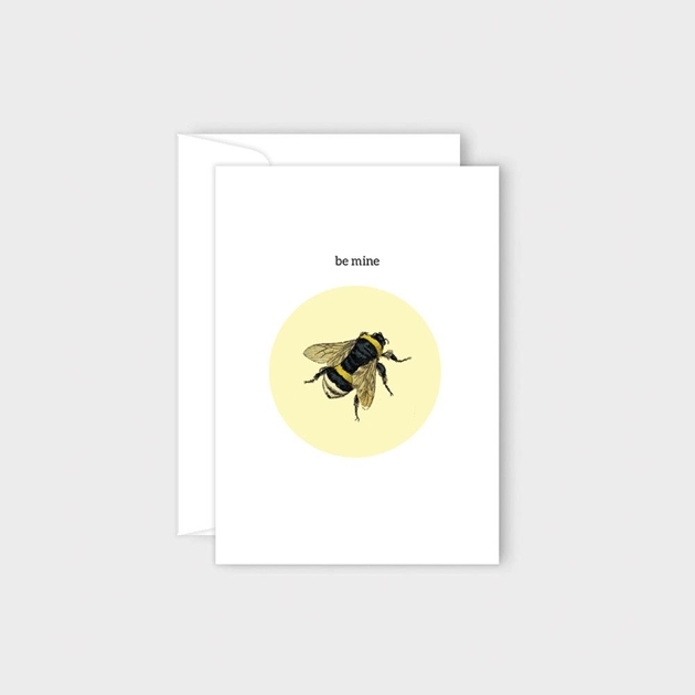 Poppy Card - Bee Mine -