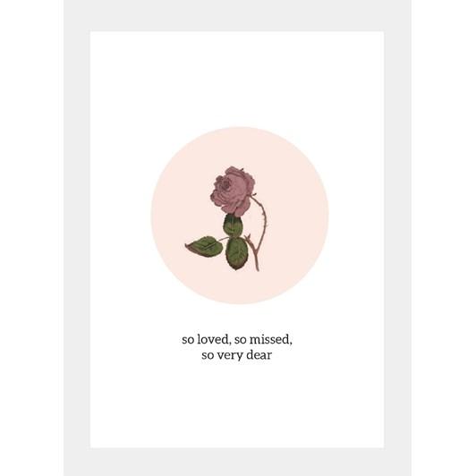 Poppy Card - So Loved