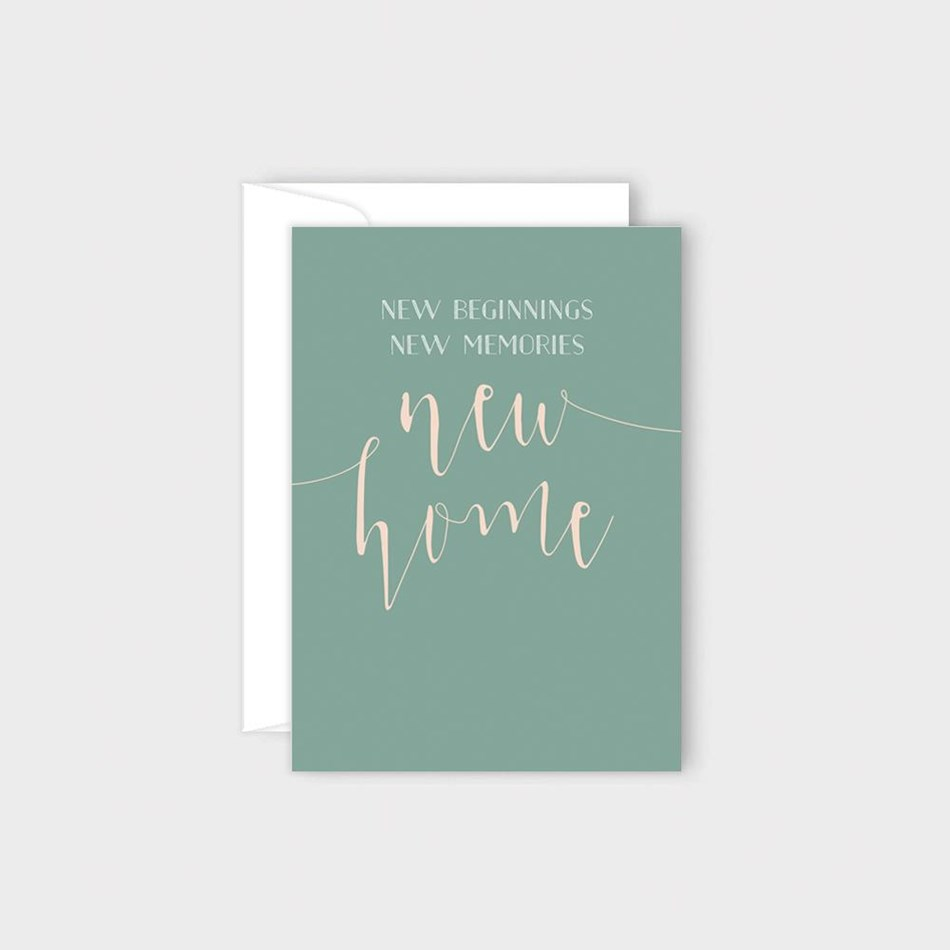 Poppy Card - New Home -