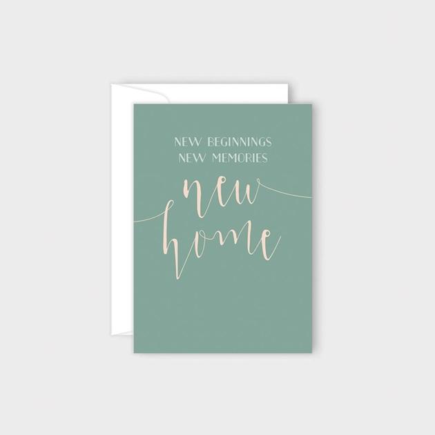 Poppy Card - New Home -