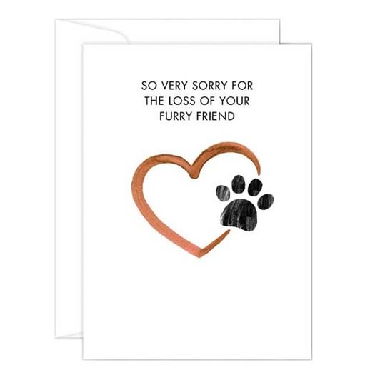 Poppy Card - Furry Friend Sympathy