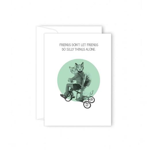 Poppy Card - Friends Don't