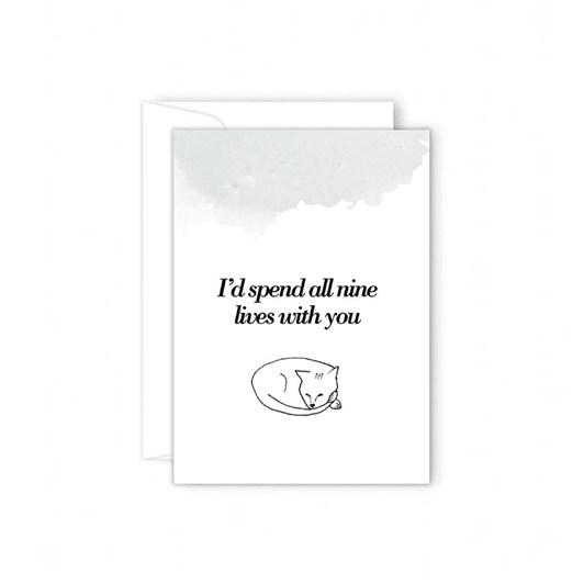 Poppy Card - I'd Spend All Nine Lives