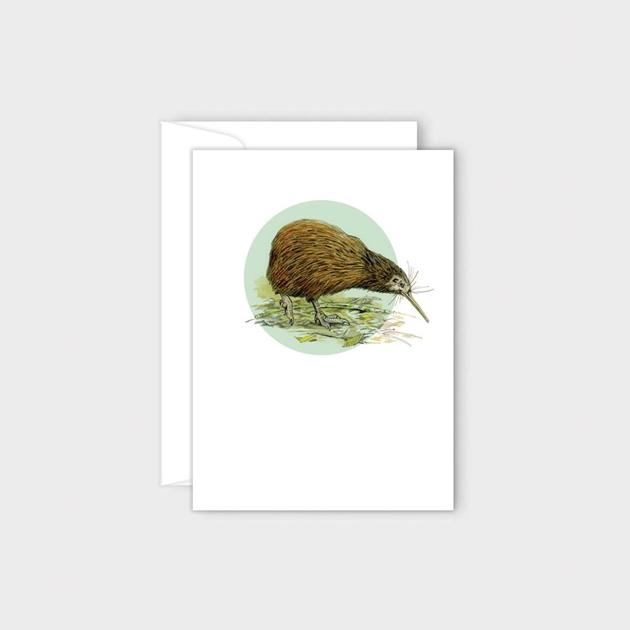Poppy Card - Kiwi -