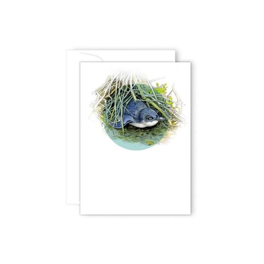 Poppy Card - Little Blue Penguin