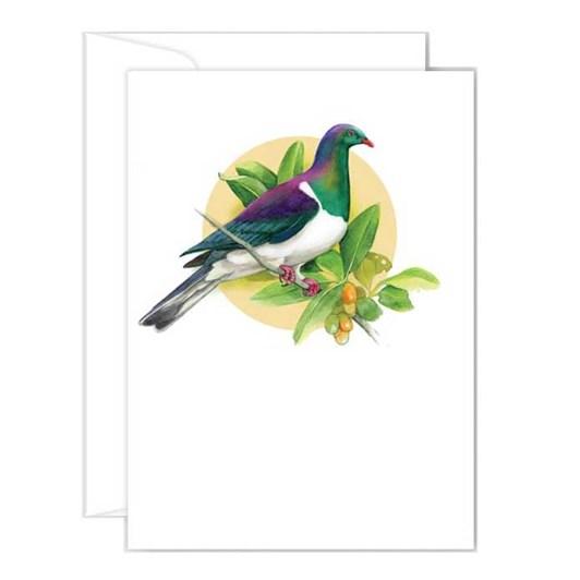 Poppy Card - Kereru