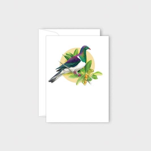 Poppy Card - Kereru