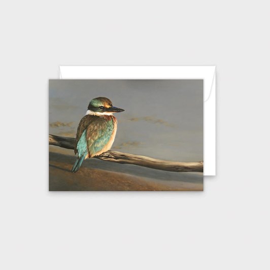 Poppy Card - Kingfisher