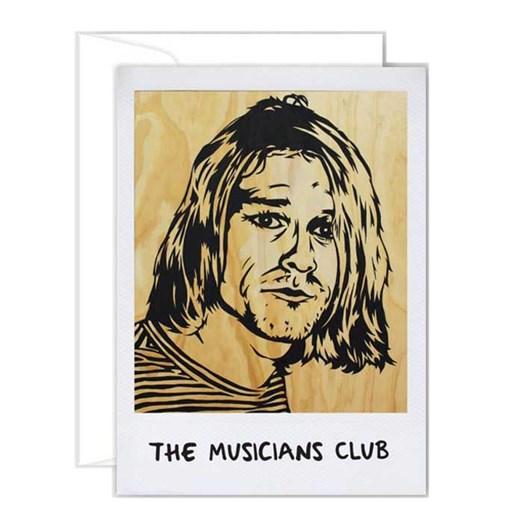 Poppy Card - Kurt Cobain