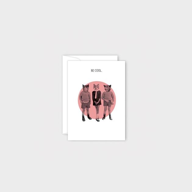 Poppy Mini Card - Be Cool -