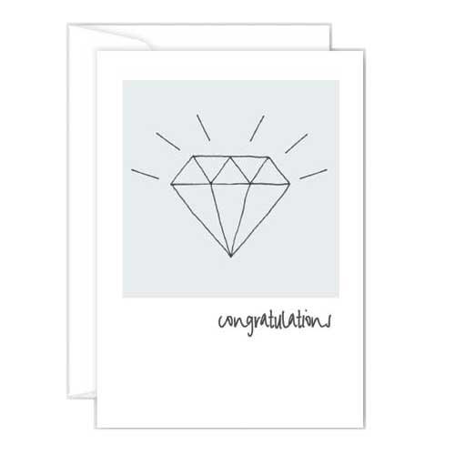 Poppy Mini Card - Congratulations