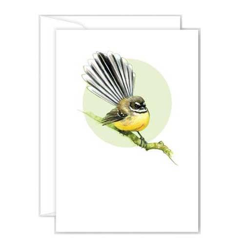 Poppy Mini Card - Fantail