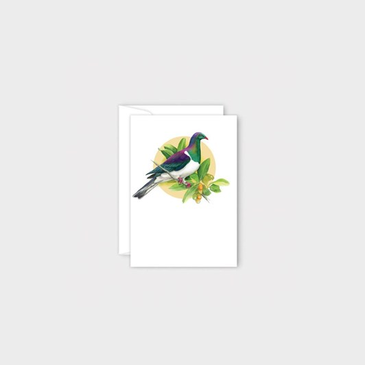 Poppy Mini Card - Kereru