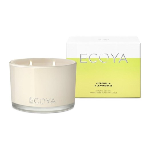 Ecoya Outdoor Candle 400g - Citronella & Lemongrass