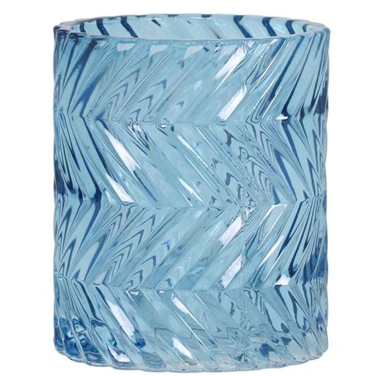 Light & Living Tealight 7,5X9,5 Cm Thouzon Grey Blue