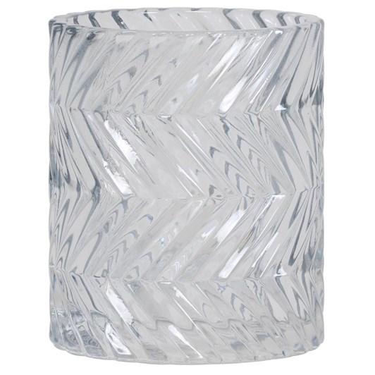Light & Living Tealight 7,5X9,5 Cm Thouzon Grey