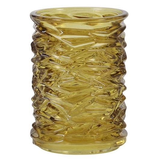 Light & Living Tealight 7,5X10,5 Cm Monteux Amber