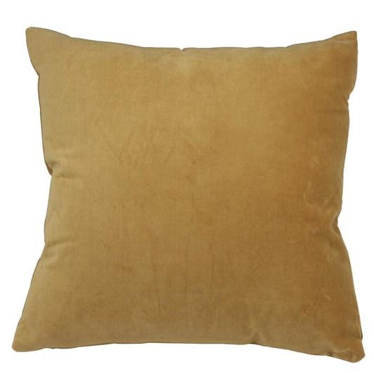 Light & Living Pillow 50X50 Cm Khios Velvet Light Gold