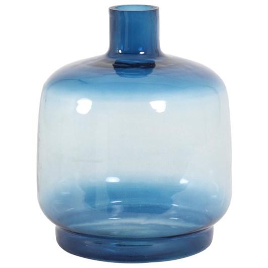 Light & Living Vase Deco 25X30 Cm Teques Glass Blue