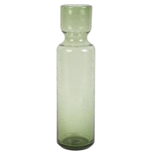 Light & Living Vase 10X36 Cm Alvalade Glass Green