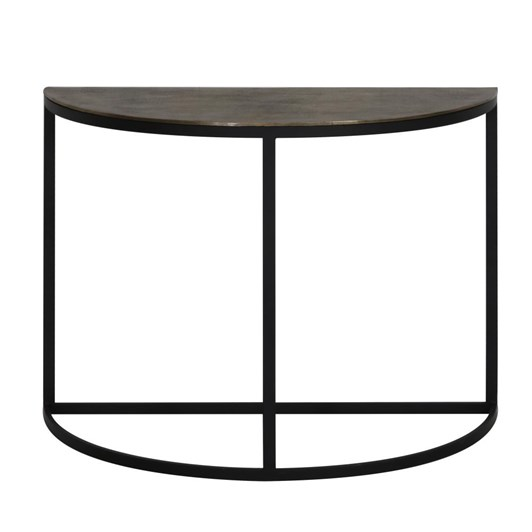 Light & Living Console 100X42X76 Cm Peto Raw Antique Bronze-Black