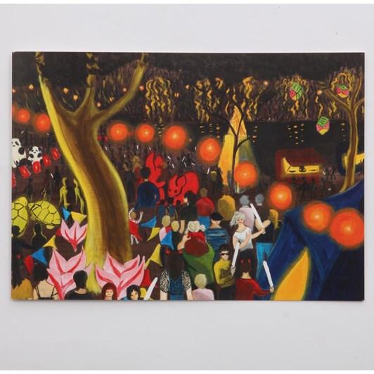 Chinese Lantern Festival Card