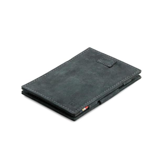 Garzini Cavare Magic Wallet Carbon Black - black