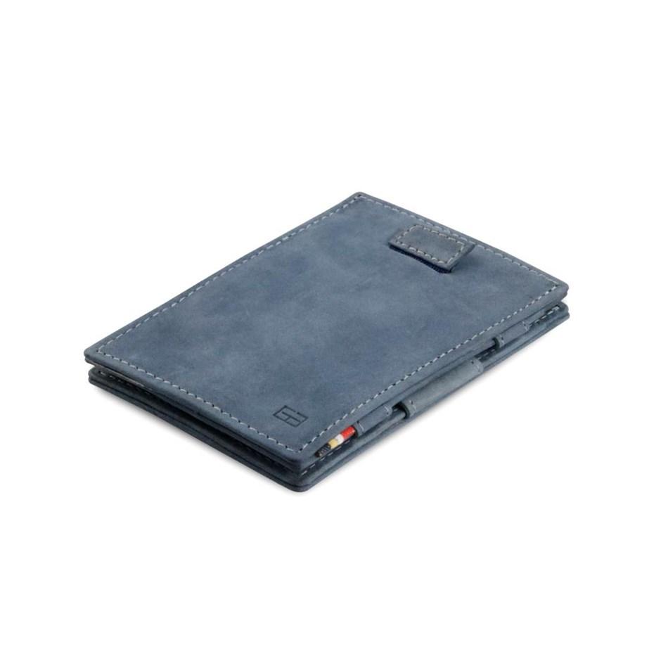 Garzini Cavare Magic Wallet Sapphire Blue - blue