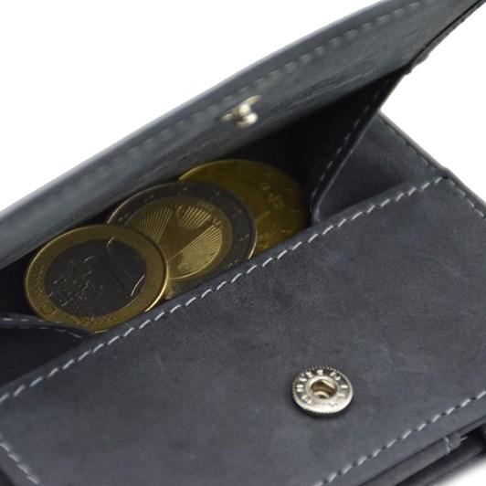Garzini Essenziale Coin Pocket Magic Wallet Carbon Black