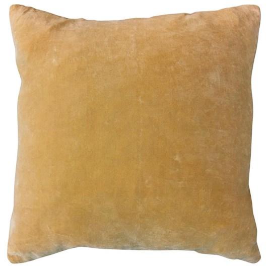 Vanilla Fly Velvet Cushion Mustard 50X50Cm