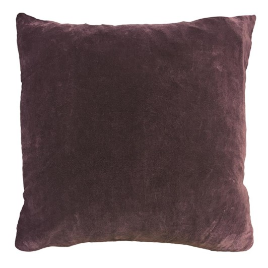 Vanilla Fly Velvet Cushion Plum 50X50Cm