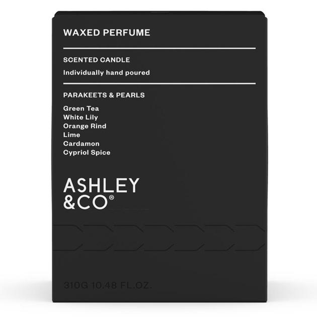 Ashley & Co Waxed Perfume - Parakeets & Pearls - parakeets-pearls