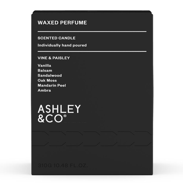 Ashley & Co Waxed Perfume - Vine & Paisley - vine-paisley