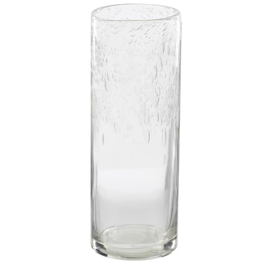 Ivory House Bubble Top Vase - Clear 35Cm