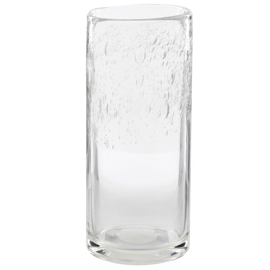 Ivory House Bubble Top Vase - Clear 29cm