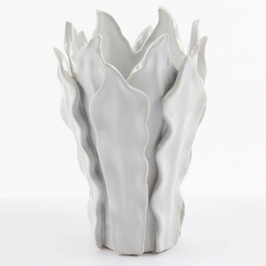 Ivory House Mode Leaf Vase 23X16
