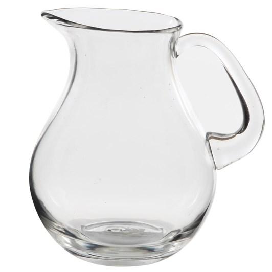Ivory House Heavy Glass Jug