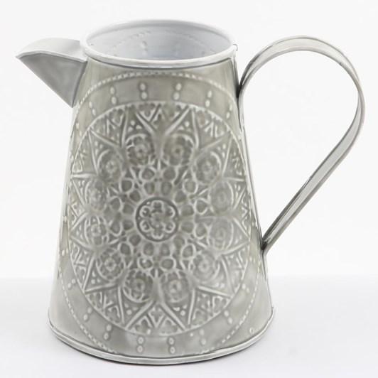 Ivory House Wash Jug 20Cm - Grey