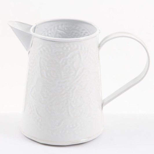 Ivory House Wash Jug 16Cm - White