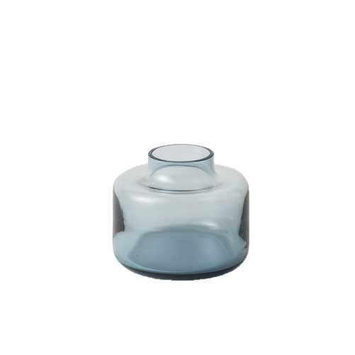 Citta Mini Magnolia Vase Small Blue