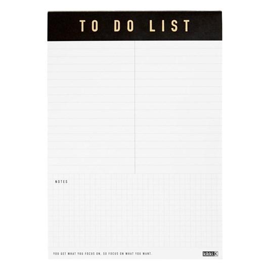 Kikki K A5 'To Do' List