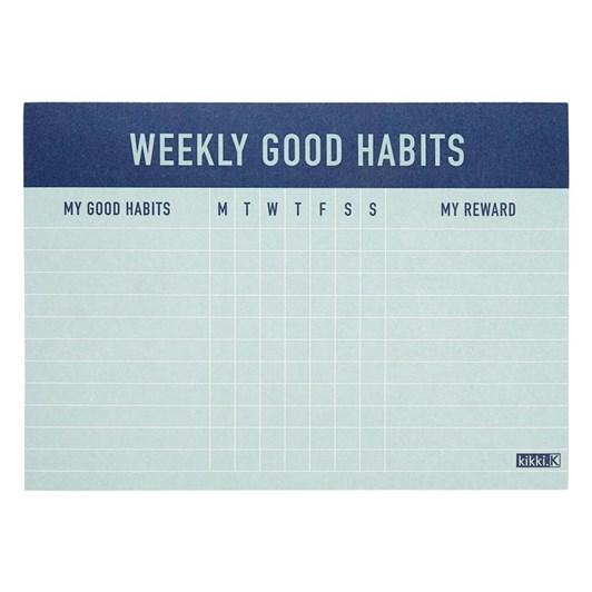 Kikki K Weekly Habits Inspiration Pad