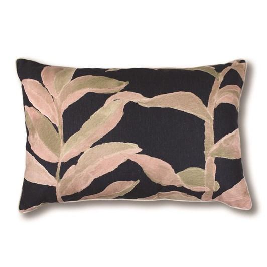 Madras Link Olinda Blush/Navy Cushion 40x60cm
