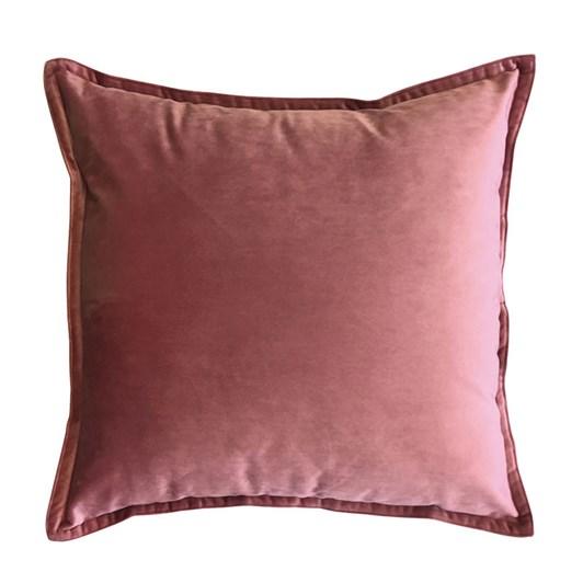 Madras Link Mira Velvet Ashes Of Rose Cushion 50cm