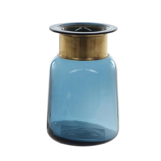 Ballantynes Metallic Neck Glass Vase