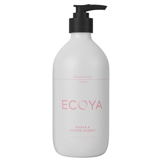 Ecoya Hand & Body Lotion - Guava & Lychee Sorbet