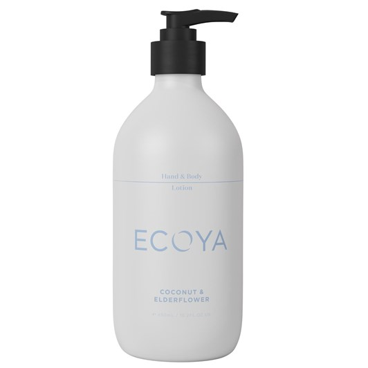 Ecoya Hand & Body Lotion - Coconut & Elderflower