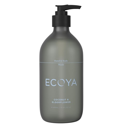 Ecoya Hand & Body Wash - Coconut & Elderflower